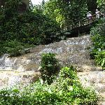 Part of the falls
