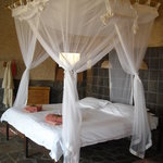 The romantic bed