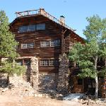The historic Mountainside Lodge
