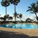 Nice pool by the beach