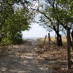 the path to Playa Santana