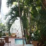 Hotel's Internal Courtyard