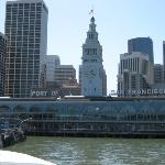 From the ferry on our way back into San Francisco from Sausalito
