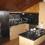 Kitchen at Banwy Lodge