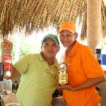 Emilio and Mirita, wonderful bartenders