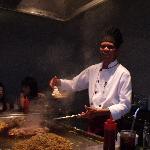 chef at Japanese Restaurant