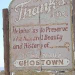 Entrance to Ghost Town