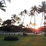 Sunrise over Kauai Beach Resort