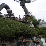 cool dragon statue