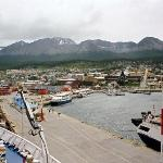 Ushuaia from the deck of the Marco Polo