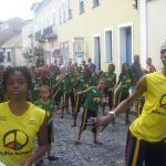 Ensaio da escola do Olodum