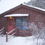 Our cabin at the Grand Canyon