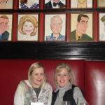Last night in NY...dinner at Sardi's