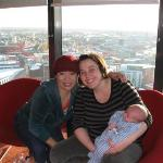 With dear friend Amy & Isaac. Cloud 23 is a bar on the 23rd floor of the Hilton (highest in Manc