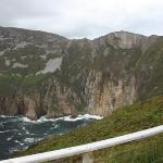 Slieve League cliffs rising to1972 feet, highest marine cliffs in Europe