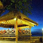 Beach Terrace Pavilion for resting and dining