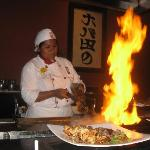 Our Chef at Mikado