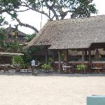 View of bar from beach
