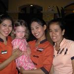 Staff & daughter