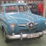 Studebaker car - from 1950s