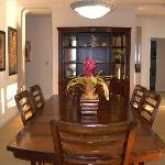 Dining room in the 3br