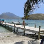 The jetty at Turtle beach