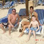 sandos beach-elliott,julie,jack
