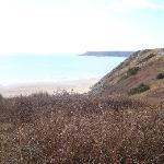 View of Three Cliffs Bay - Taken on horseback