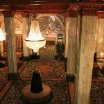 Hotel Lobby from Mezzanine