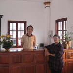 Wife with Hotel manager