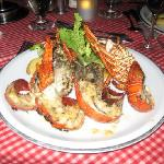 Lobster Dinner on the beach