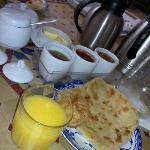 Breakfast at Riad Miliana