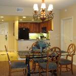 one bedroom, kitchen and livingroom