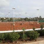 Great tennis facilities and coach