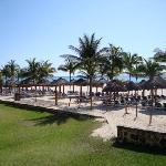 off-limits beach area