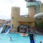 The amazing waterpark.  Kids loved it.