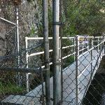 No crossing Century Lake Dam