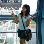 Bilde fra Singapore Flyer