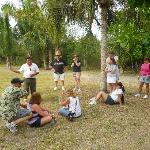 Our guide David sharing the Mayan Culture with us