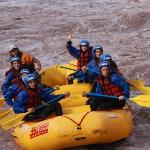 Rafting over Mendoza's river