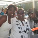 Me Mom and Lana on the hop on hop off tour bus. Enjoying the day as it comes.