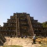 Mexico. El Tajin, Veracruz. Piramide de los Nichos