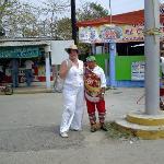Mexico, Veracruz. Voladores de Papantla en Tecolutla