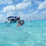 Dexter's catamaran