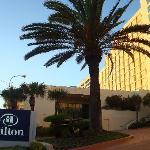 Entrance of hotel