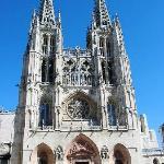 Fachada principla de la Catedral de Burgos