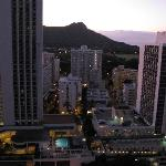 View of Diamond Head from our room