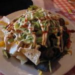 Dave's Nachos with brisket: The BEST!