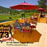 373 Grill decks at the Greer Lodge Resort