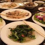 レストランの台湾料理最高!